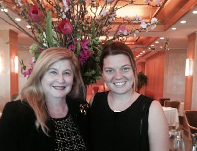 Miriam with Melissa