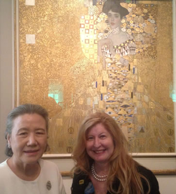Mrs.Ban, Miriam and Klimt's
