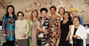 Yiling Li, Gloria Starr Kins, Miriam, Hailin, Liz, Joan Gudefin, Marcelia Hicks, Brigitte Roepke, Rumiko Allinder