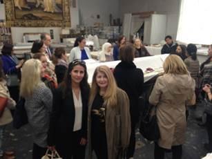 Miriam with Racha Lotfi Eloumni